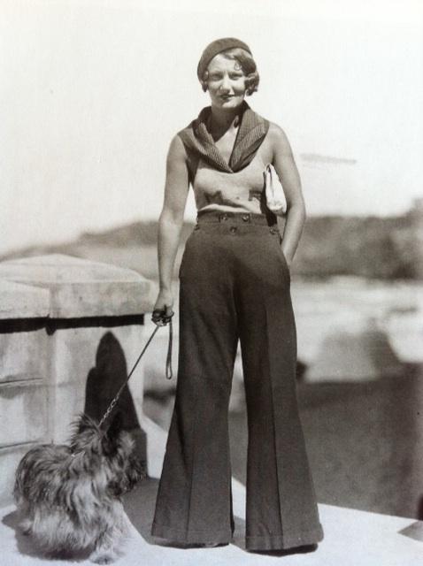 Popular 1920s Fashion Women Pants